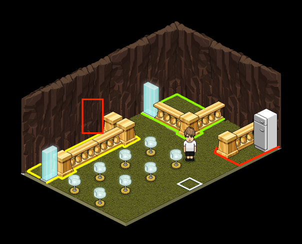 How to build and host the Fridge Game in Habbo