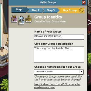 Habbo Groups