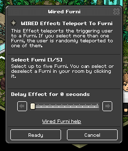 WIRED Effect: Teleport to Furni.