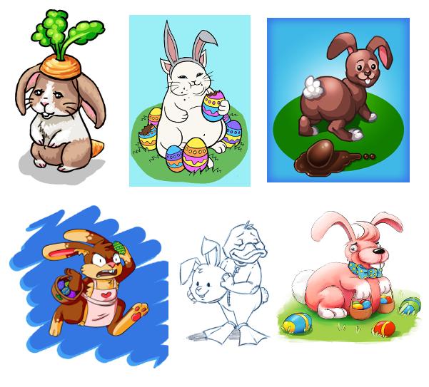Designer's take on the Easter Bunny